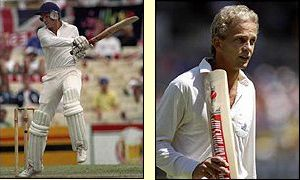 David Gower hit centuries in the second and third Tests but could not stop England falling further behind