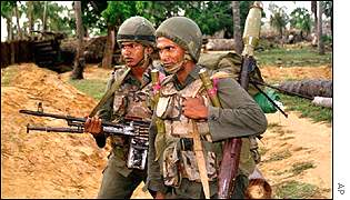 Sri Lankan troops