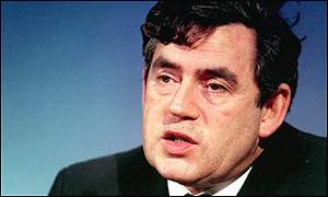 Gordon Brown, uk chancellor of the exchequer