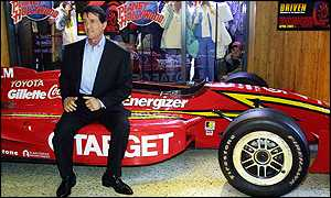Sylvester Stallone promoting Driven