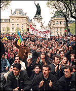 Pro-Berber demonstrators in Paris