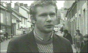 Martin McGuinness in the 1970s