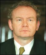 Martin McGuinness says IRA men did not fire shots on Bloody Sunday