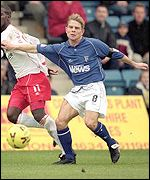 Gillingham player-manager Andy Hessenthaler