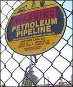 A petroleum pipeline
