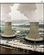 Three Mile Island nuclear power plant, Pennsylvania