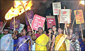 Indian prostitutes demonstration