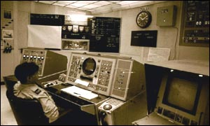 The operation centre at Fylingdales early warning station