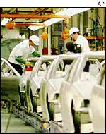 BMW factory in US