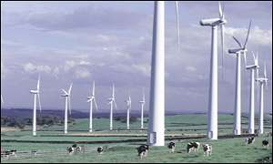 Wind farm, BBC