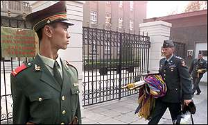 US embassy official preparing for talks in Beijing