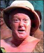 Keith Chegwin in Channel 5's Naked Jungle