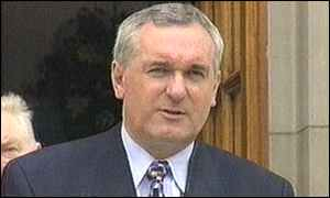 Bertie Ahern: relatives have signed the documents
