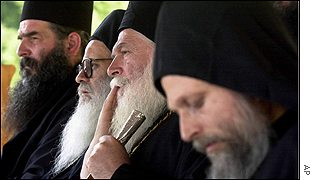 Greek Orthodox monks