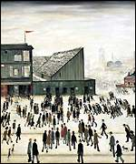 LS Lowry's Going to the match