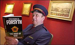 Christie's guard with the Forsyth Lowry collection