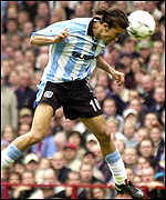 Mustapha Hadji's 17th minute header gave Coventry a dream start