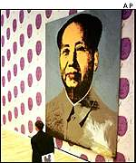 Warhol's Mao in the art museum in Wolfsburg, northern Germany