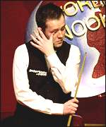 John Higgins reflects at The Crucible