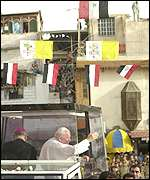 Pope in Damascus