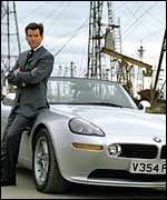 Pierce Brosnan as 007