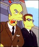 News Corp boss Rupert Murdoch on The Simpsons