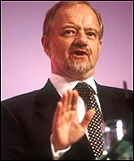 Robin Cook, who is set to become the next President of the European Socialists