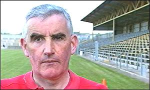 Donegal manager Mickey Moran
