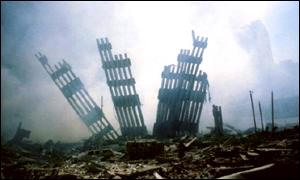 Remains of the World Trade Center