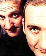 Mark Radcliffe and Marc Riley