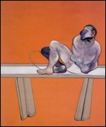 The right panel of Francis Bacon's Studies of the Human Body