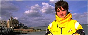You posed your questions to Ellen MacArthur