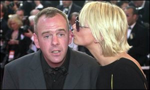 Norman Cook and Zoe Ball were among the celebrity guests at the Moulin Rouge premi�re