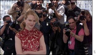Nicole Kidman is the focus of attention for the world's press