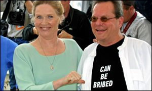 Cannes jury president Liv Ullmann and jury member Terry Gilliam reveal the selection process