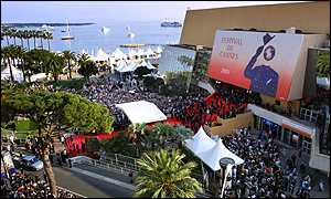 Crowds at Cannes Film Festival