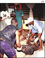 Victims of Ghana worst sporting tragedy that has claimed 124 lives