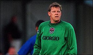 Forest Green manager Nigel Spink