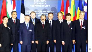 Participants at the Bratislava summit