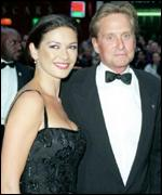 Zeta Jones and husband