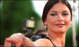 Welsh Actress Catherin Zeta Jones