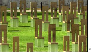 Cemetery where 168 victims of Oklahoma bombing are buried