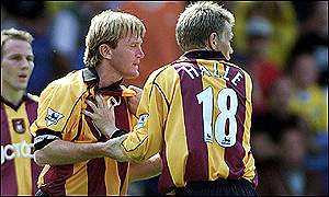 Stuart McCall (left) and Gunnar Halle
