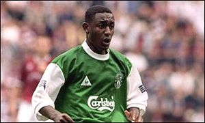 Russell Latapy will not wear the Hibs green again