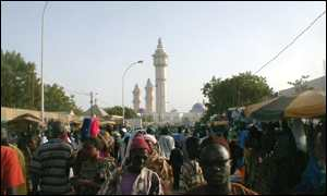 Touba, where the Mourides are based