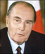 Francois Mitterrand abolished the death penalty in France