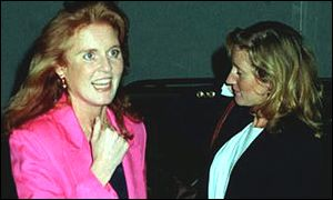 The Duchess of York and Jane Andrews
