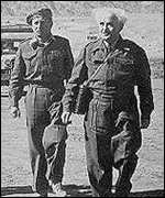 David Ben-Gurion (right), first prime minister of Israel