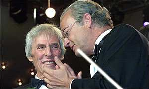 Burt Bacharach with King Carl Gustaf