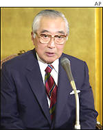 Grand Master of the Japanese Crown Princes household, Kiyoshi Furukawa
